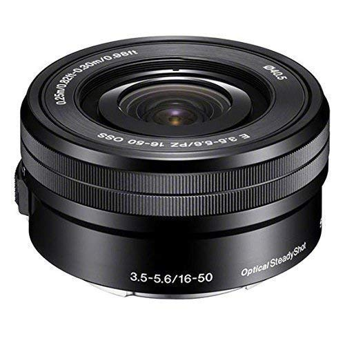 Sony SELP1650 16-50mm F/3.5-5.6 OSS Power Zoom Lens Black Bulk Packaging, International Version (No Warranty)