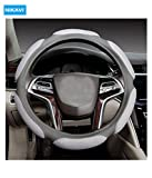 Nikavi Steering Wheel Cover - Odorless, Warmer Hands In Winter, Cooler Hands In