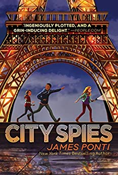 City Spies by [James Ponti]