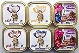 Tasty 272 x 100g Katzenfutter Pastete/Ragout Verschiedene Sorten