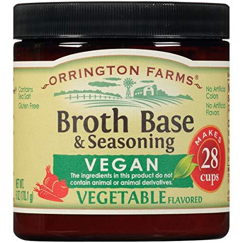 Orrington Farms Vegan Vegetable Broth Base & Seasoning, 6 Ounce
