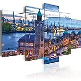 murando - Bilder Hamburg 200x100 cm Vlies Leinwandbild 5