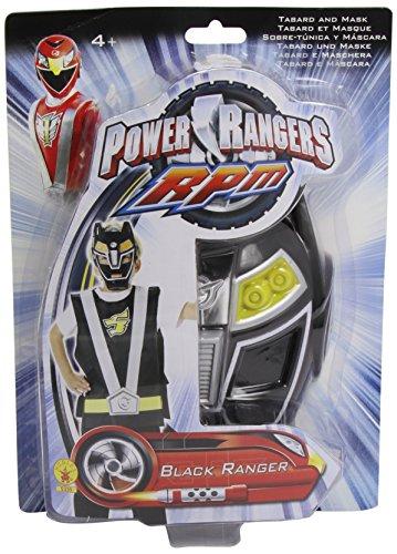 Rubie 's - Set Action Power Ranger, zwart (5335)