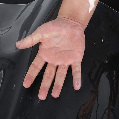 HU Tissu imperméable en Plastique de PVC de Prougeection Solaire de bache imperméable de Toile de bache Transparente imperméable d'épaisseur de 0.5mm (450g  ) (Taille   5x5m)