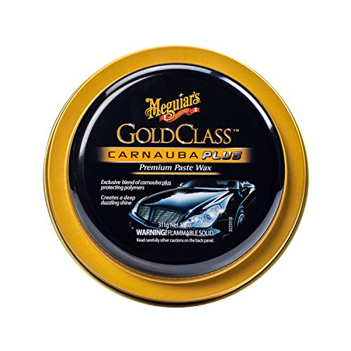 Meguiar's Gold Class Carnauba Plus Premium Paste Wax – Creates a Deep Dazzling Shine – G7014J,...