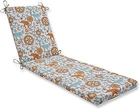 ComfortCorrect 203,2 x 58,4 x 7,6 cm. Almofada para espreguiçadeira Cayenne Menagerie 44; cinza