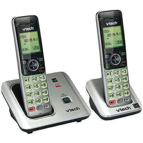 teléfono fijo inalámbrico duo de la marca VTech