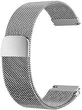 20mm Quick Release Watch Band Metal Strap Compatible with Amazfit GTS and Amazfit Bip U Pro,Garmin Vivoactive 3,Samsung Ga...
