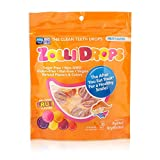 Zolli Drops by Zolli Pops Sugar Free Candy - Keto Friendly, Mixed Sweets, Gluten and Dairy Free - Assorted Fruit Flavours, 1 Pack, 15 pcs Bag