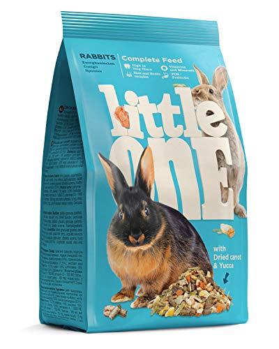 Little One Alleinfutter für Zwergkaninchen im Beutel, 4er Pack (4 x 900 g)