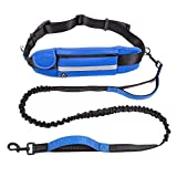 Good Superior Retractable Hands Free Dog Leash-Professional Running Belt with Dual Padded Handls for Medium and Large Dogs