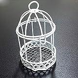 TrAdE Shop Traesio 36 BOMBONIERA Gabbia Lanterna Porta Confetti Comunione Matrimonio PROMESSA