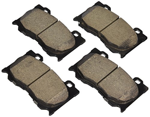 Akebono ASP1346 Performance Ultra Premium Ceramic Disc Brake Pad Kit