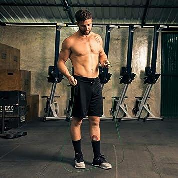 Corde /à sauter ultra rapide pour les sports d/'endurance ou simplement pour /être en forme le CrossFit Enti/èrement r/églable pour s/' les arts martiaux mixtes la boxe Corde /à sauter de vitesse WOD Nation MMA