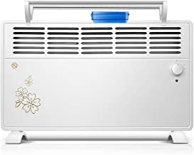 AGLZWY Vertical Calentador Convector Silencioso Baño Radiador Pared Doble Uso Modo 3er Engranaje Estufa Electrica para Interior Habitación Oficina (Color : White-1500W)