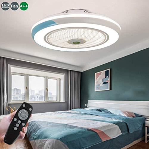 Ventilador De Techo 60W LED Lámpara Creative Regulable Ventilador De