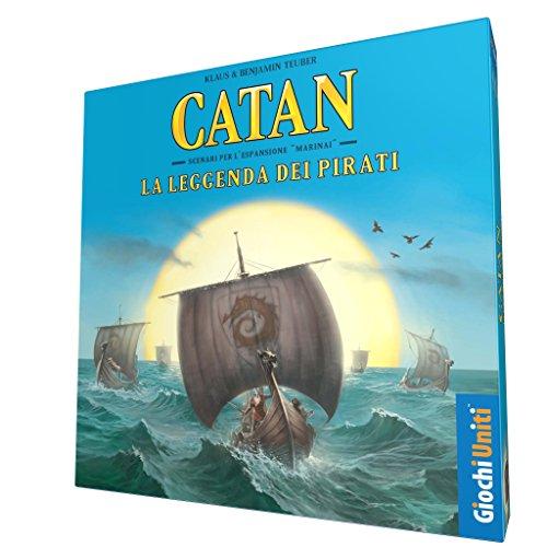 Giochi Uniti Coloni Catan la Leyenda de los Piratas, GU584