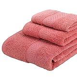 Lsopx Asciugamano 17 colori Cotton Bagno Rettangolo Qualità Bagno Asciugamano Solido Colore Asciugamano Asciugamano Adulti Doccia Doccia Uso 3 Size .Asciugamano ( Color : 15 , Size : As shown )