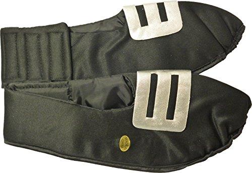 Adulte Couverture de cireur Fancy Dress avec Argent Boucle Taille XL: 31cm Front to Back