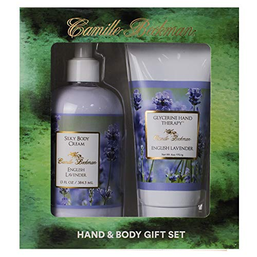 Camille Beckman Hand and Body Duet Gift Set - English Lavender Scent by Camille Beckman