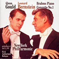 Brahms: Concerto for Piano & Orchestr by Glenn, Leonard Bernstein Gould