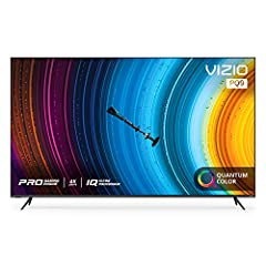 Quantum Color Built on VIZIO's high-performance Active Full Array backlight, VIZIO's next-generation Quantum Color delivers cinematic color intensity with 120% more color than standard 4K TVs*. * Color volume measured using Dolby's MDC spec that fact...
