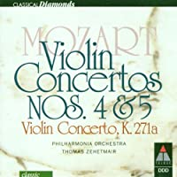 Violin Concertos.4, 5: Zehetmair / Po
