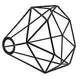 Monkys - Pantalla de lámpara de Metal Vintage, Canasta de Metal Retro, Jaula, lámpara Colgante de Techo, Pantalla geométrica, Colgante para Luces Colgantes, Luces de Pared
