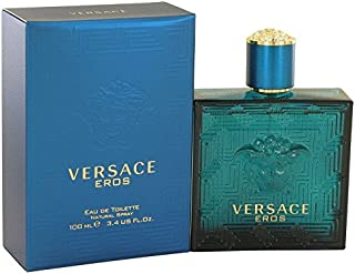 Eros by Versace for Men Eau De Toilette Spray, 3.4 Ounce