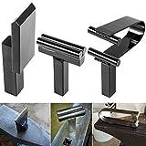 Blacksmith Yunque Forge Hardy Tool 2.54 cm, juego de herramientas de resorte de corte caliente (3 piezas)