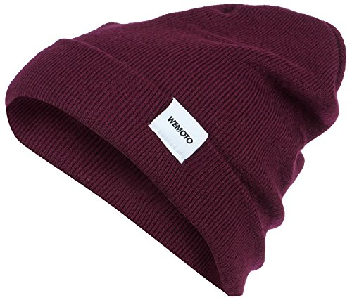 Wemoto North Beanie Burgundy