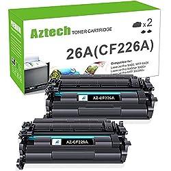 top 10 compatible toner cartridges for hp HP 26A CF226A 26X CF226X Laserjet Pro M402dn Aztech Compatible Replacement Toner Cartridge…