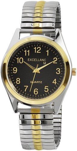 Excellanc Herren-Uhren mit Metallzugband 270011000008