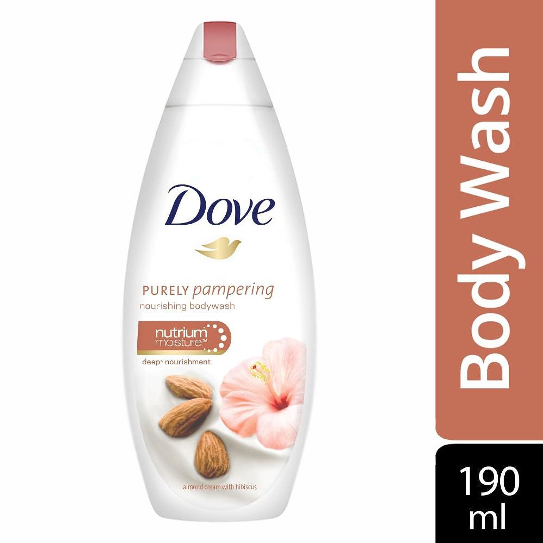 花等数学Dove Purely Pampering Almond Cream and Hibiscus Body Wash, 190ml
