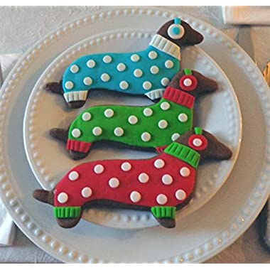 Exclusive Dachshund Dog Cookie Cutter, Real Dachshund Shape 6  Long
