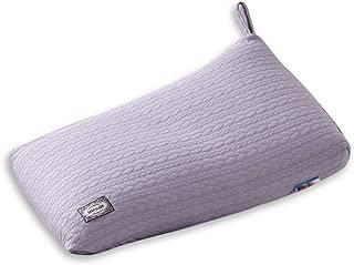 HHQSC Neck Care Pillow-Super Soft Knit High Elastic Comfort Hot Melt Cotton Wash Pillow Promote Sleep-48x74Cm,Grey (Color : Grey)