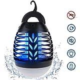 ROVLAK Insektenvernichter Moskito Killer Lampe UV Bug Zapper,2 in 1 USB Aufgeladen Mückenlampe