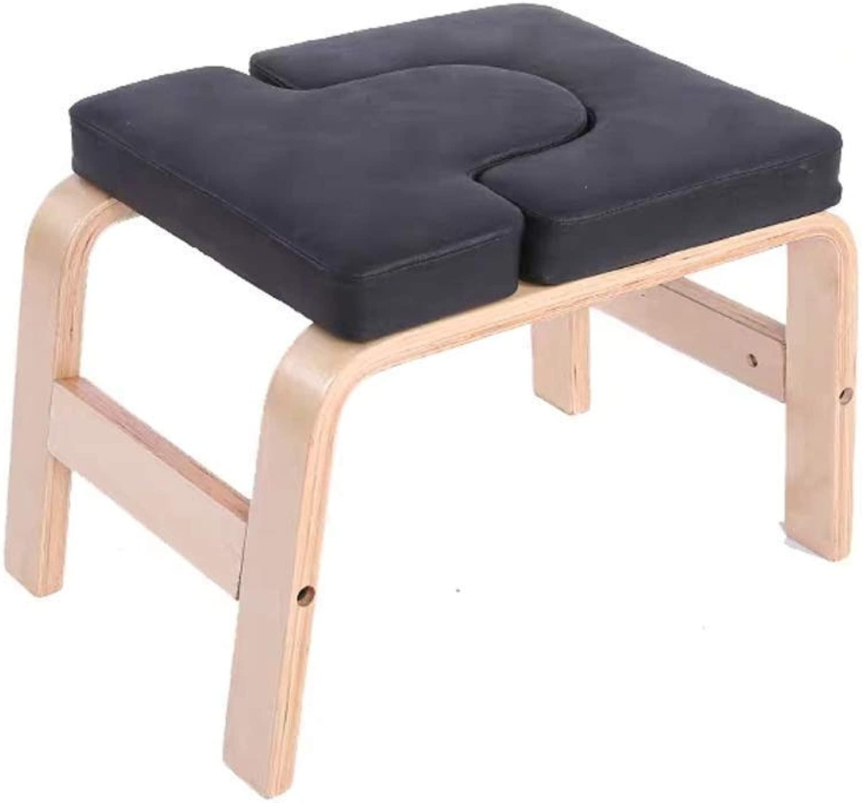 RUIMA 両足を乗せるとバランストレーニングコア強度ヨガアーサナ実践チェアを構築するための椅子ダウンヨガ反転ベンチ逆立ちプロップアップサイド