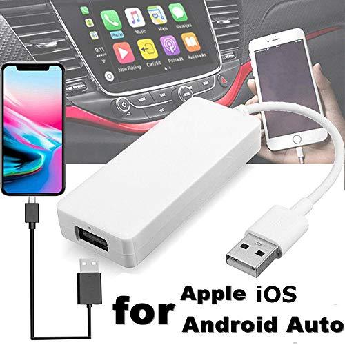 PolarLander Dongle Auto Link USB Smart Link Dongle Apple per Lettore di Navigazione Android Mini USB Stick con Android Auto per iOS