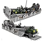 General Jim's WW2 Military US Army Landing Craft Vehicle Building Blocks Toy Model Set