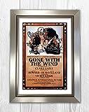Gone with The Wind - Clark Gable, Leslie Howard, Olivia De
