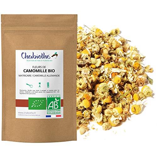 Fleurs de Camomille BIO (Matricaria chamomilla L) 100g