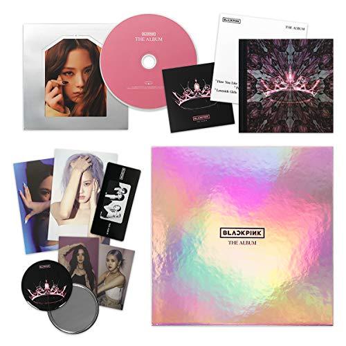 THE ALBUM [ VERSION #4 ] - BLACKPINK 1st Full Album CD + Photobook + PostCard Set + Credits Sheet + Lyrics Booklet + Photocards + Postcards + Sticker + FREE GIFT