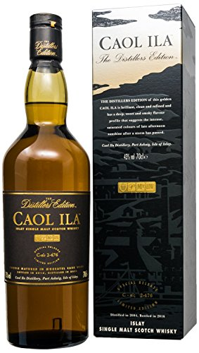 Caol Ila Distillers Edition Islay Single Malt, 1er Pack (1 x 700 ml)