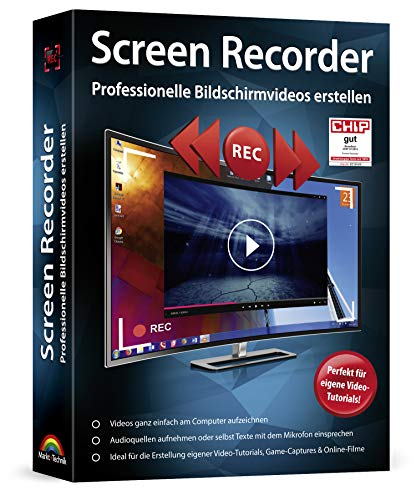 Screen Recorder - Video und Fotos aufnehmen am PC für Windows 10, 8.1, 8, 7