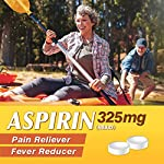 HealthA2Z Aspirin 325mg, 300 Count, Uncoated,Compare to Bayer® Active Ingredients 12 Made In USA / Compare to Bayer active ingredient. It is used to reduce fever and relieve mild to moderate pain from conditions such as muscle aches, toothaches, common cold, and headaches. It may also be used to reduce pain and swelling in conditions such as arthritis.