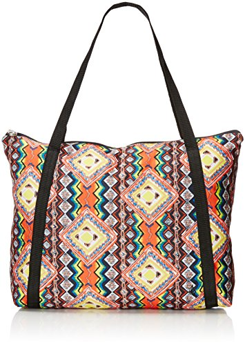 Volcom Pool Side Party Ladies 'Tote Bag Multi-Coloured Electric Coral Size:50 x 33.5 x 10 cm, 22 Liter