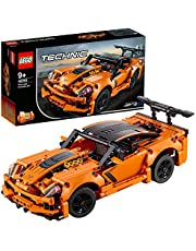 LEGO- 42093 Technic Chevrolet Corvette ZR1 Bil, Flerfärgad