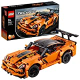 LEGO 42093 Technic Chevrolet Corvette ZR1 Rennwagen oder Hot Road, 2-in-1 Modellauto, Rennwagen-Kollektion