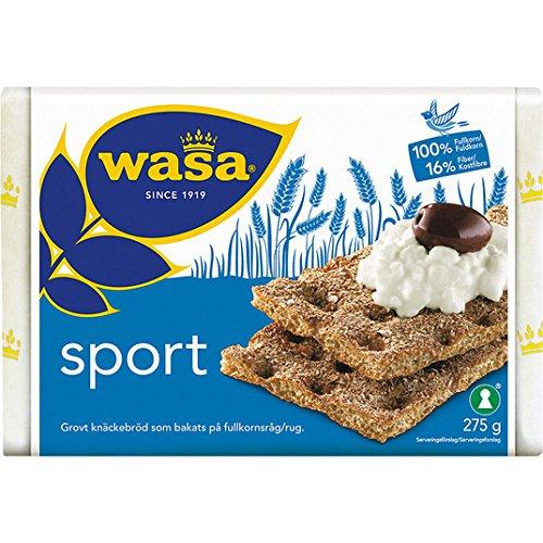Wasa Sport Rye crujiente de centeno 275g
